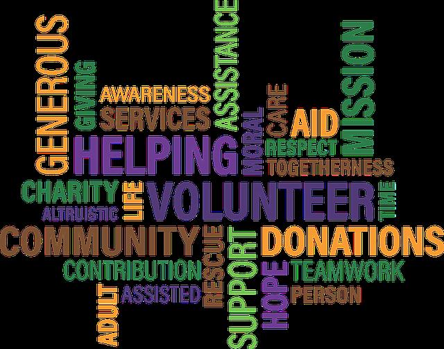 Volunteering keywords